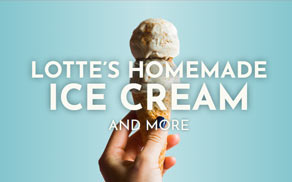 Lotte's homemade ice cream